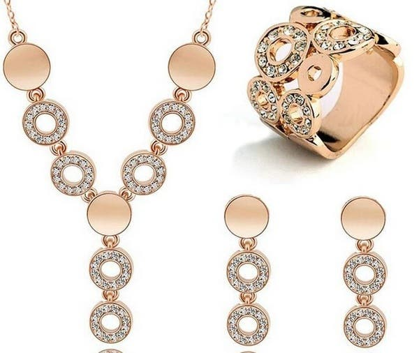 high quality jewelry set for women necklace