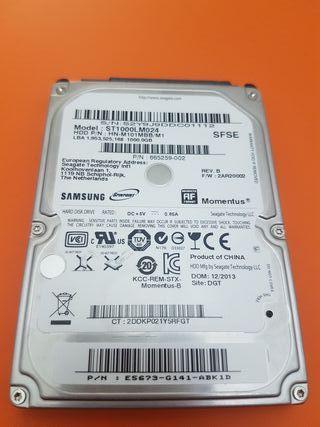 Disco duro interno extraíble HDD 1TB