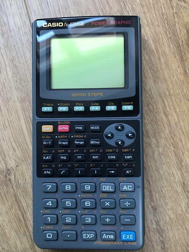 Calculadora gráfica programable CASIO fx-8700GB
