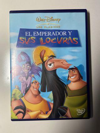 El Emperador y sus locuras (película) en DVD