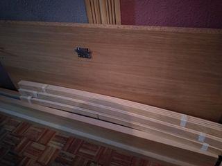 Mueble de cama con somier