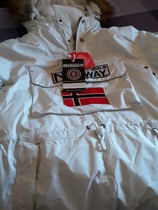 Chaqueta Norway blanca