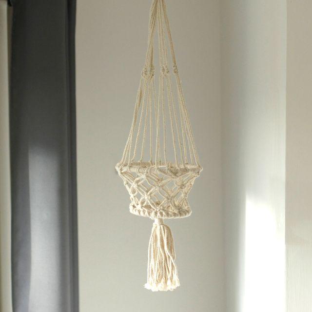 Macrame Plant Hangers, Hanging Planter Basket