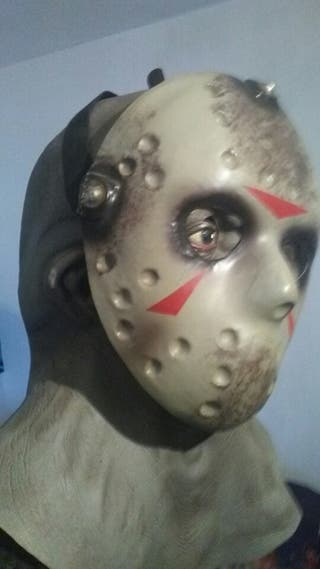 mascara de latex jason vorhees