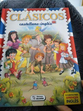 libro infantil clásicos castellano inglés
