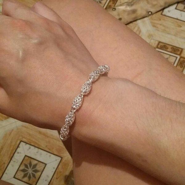 925 Sterling Silver Chain Bracelet
