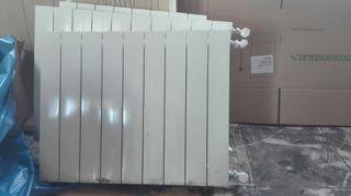 radiadores de aluminio seminuevo y caldera de de l