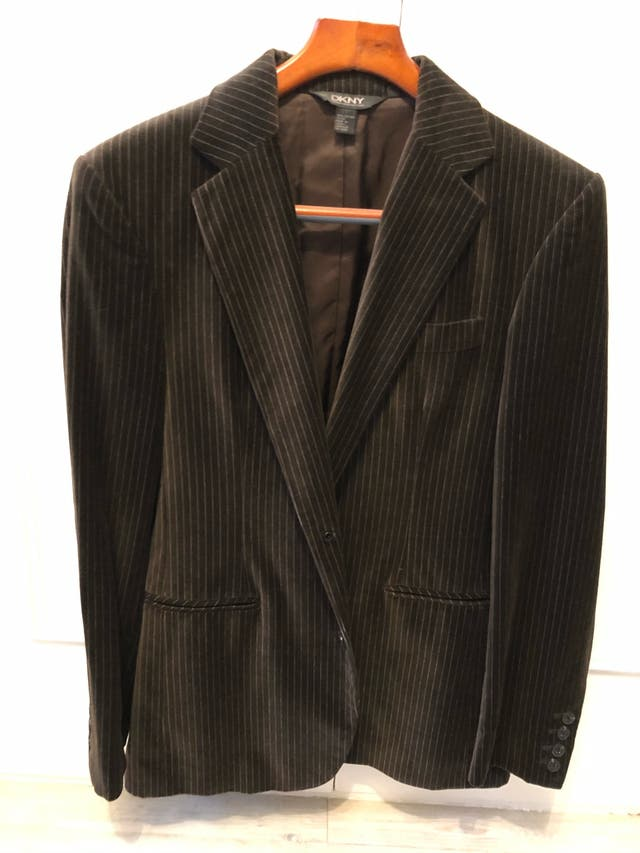 DKNY brown jacket, as new, size S/M