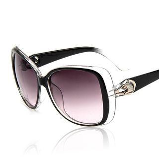 Fashion Cheetah Retro Anti-UV Sunglasses