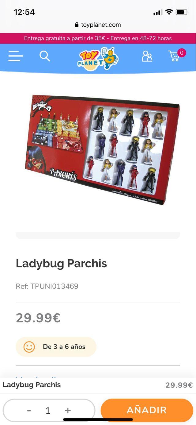 Parchís Ladybug
