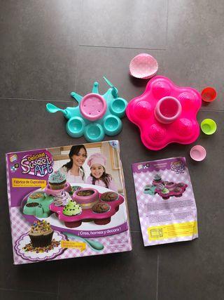 Fábrica cupcakes