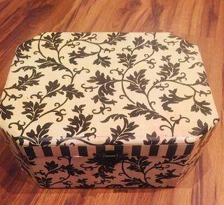 Caja joyero cofre grande con cierre