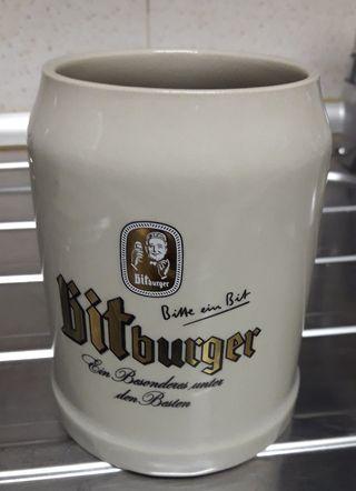 """Jarra de cerveza """"Bitburger"""""""