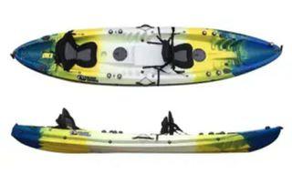 Cambio kayak por Barca