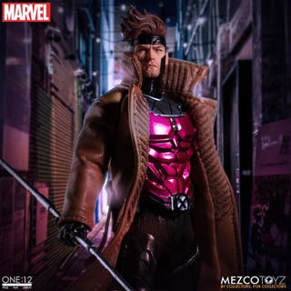 Gambit Figura 1/12 X-Men Marvel ONE 12 Mezco