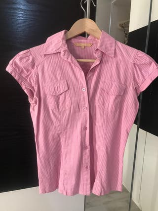 Camisa manga corta Stradivarius mujer