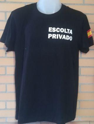 Camiseta Escolta Privado