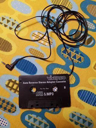 Adaptador cassette a jack 3.5