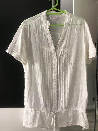 Camisa mujer manga corta