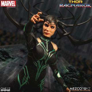 Hela Figura 1/12 Marvel ONE 12 Mezco