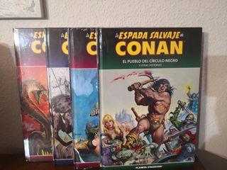COMICS LA ESPADA SALVAJE DE CONAN.