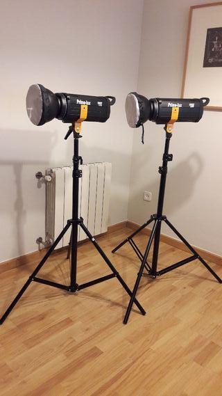 Focos Led para video, cine y fotografía