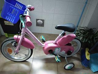Bicicleta niña 4-7 años