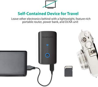 RAVPower Filehub Router Portátil WiFi, Amplificado