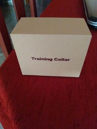Collar training.