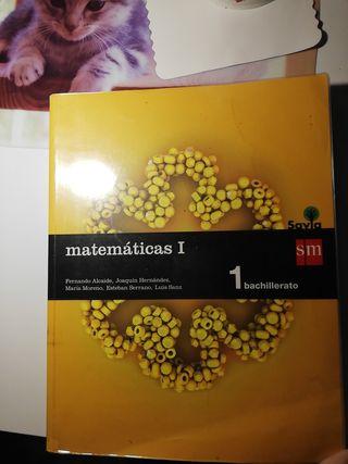 Libro de matemáticas, 1 bachillerato de ciencias