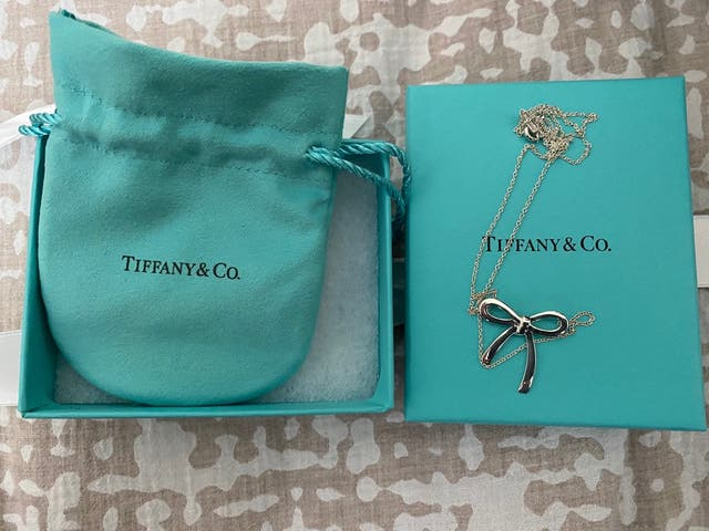 Tiffany & Co sterling silver chain