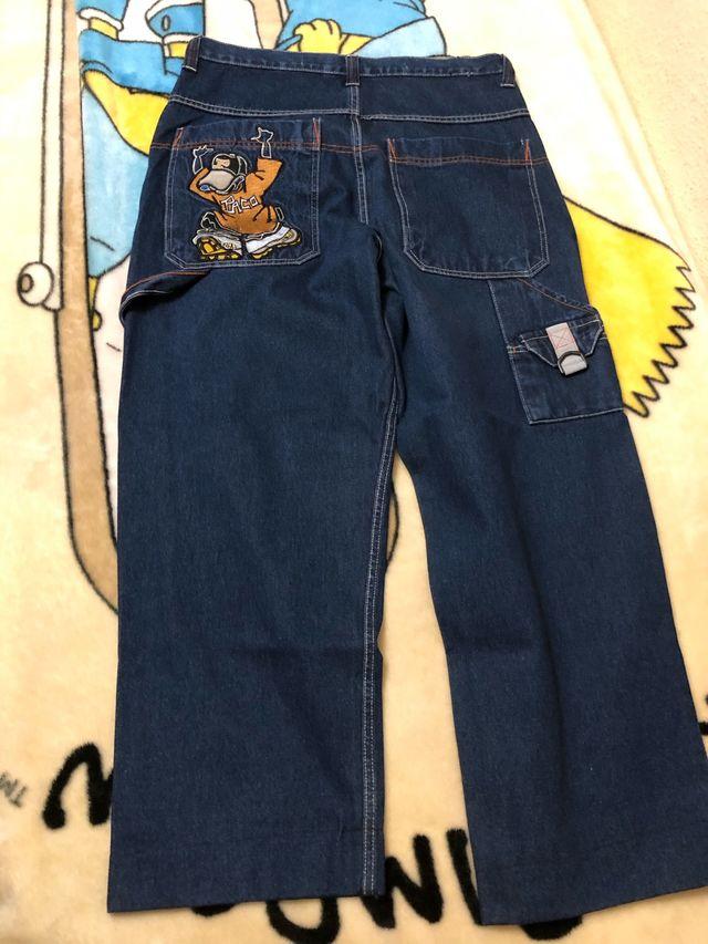 2 Pantalones Anchos (Paco y Fishbone Antiguos)