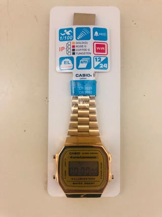 Reloj Casio dorado oro