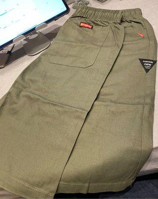 Pantalones cortos kaki