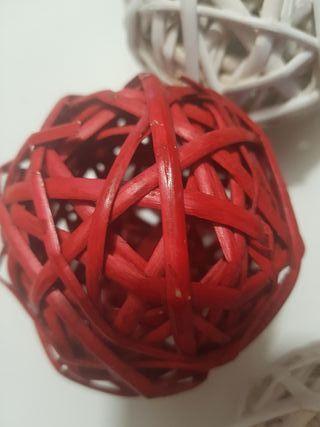 bolas de caña decoracion