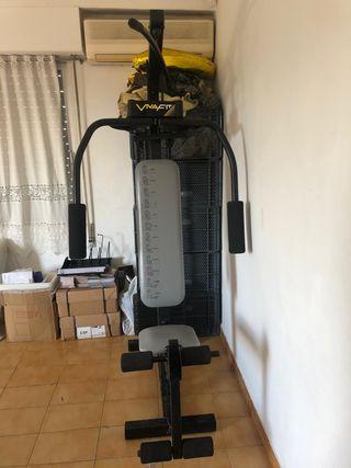 Máquina de musculación para gimnasio