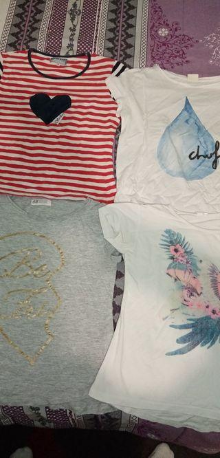 Camisetas de niña a 1€