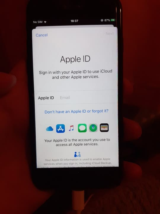iphone 7 midnight black 128GB