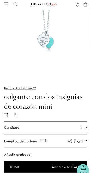 Collar Tiffany & co (Auténtico)