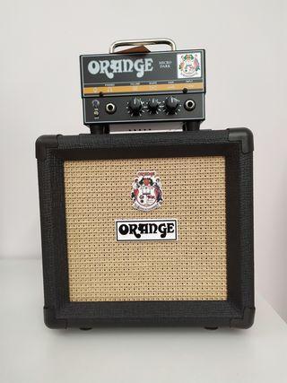 amplificador orange micro dark +ppc108