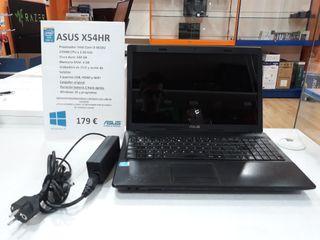 Portátil Asus X54HR i3 + 500 GB HDD + 4 GB RAM