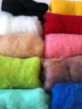 Kit Premiun de afieltrado con lana cardada