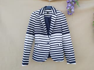 Marca blanco chaqueta americana mujer XS
