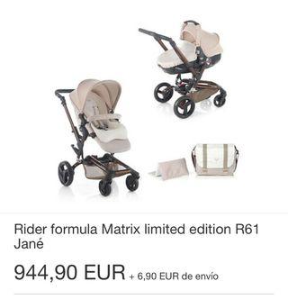 Carrito Jané Rider Matrix 3 piezas. Ed. Limitada.
