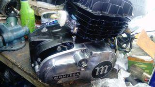 Se reparan motores de montesa, cambio biela, recti