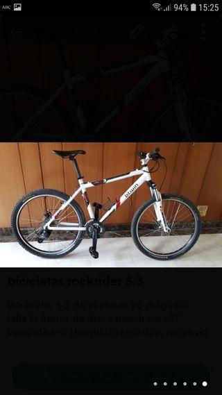 bicicleta rockraider RR 5.3