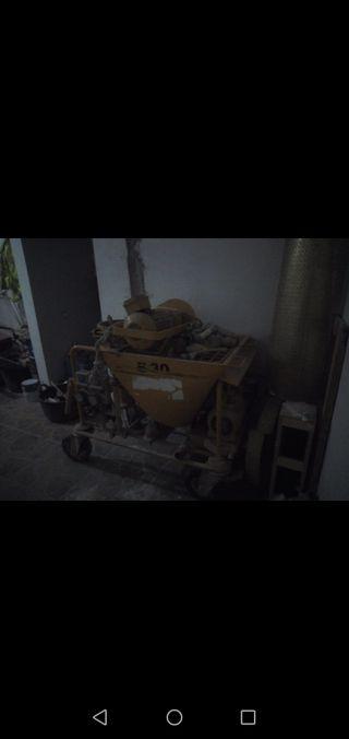 Máquina proyectar bunker