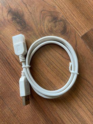 Cable alargador usb hembra macho nuevo