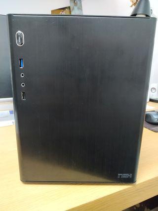 NOX Cube aluminio negro