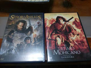 Peliculas dvd el retorno del rey y el ultimo moica